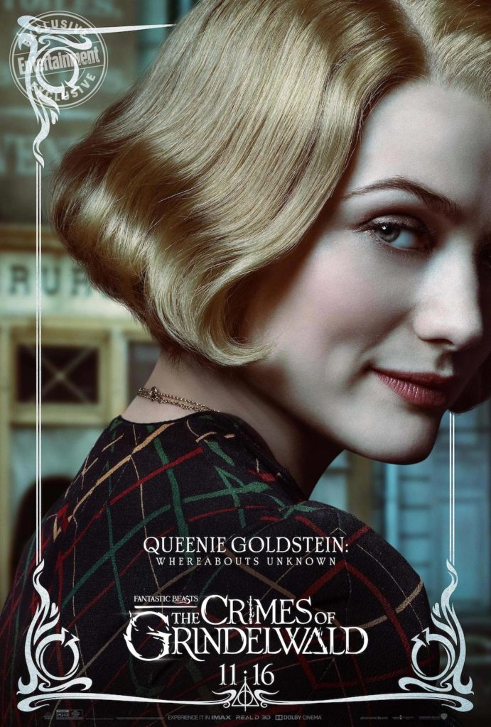 """Fantastic Beasts: The Crimes of Grindelwald"": Queenie Goldstein character poster"
