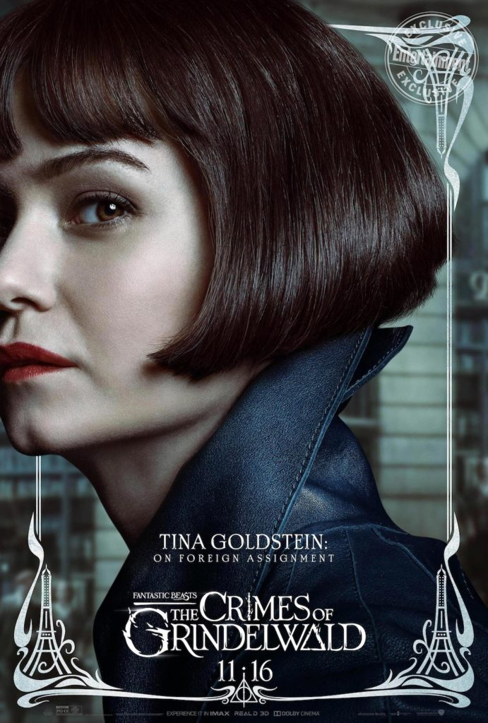 """Fantastic Beasts: The Crimes of Grindelwald"": Tina Goldstein character poster"
