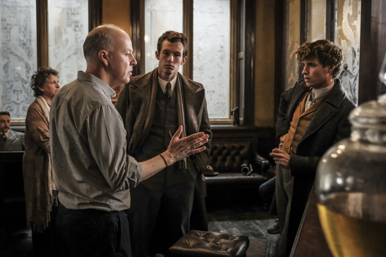 """Fantastic Beasts: The Crimes of Grindelwald"": David Yates, Callum Turner, and Eddie Redmayne behind the scenes (exclusive)"