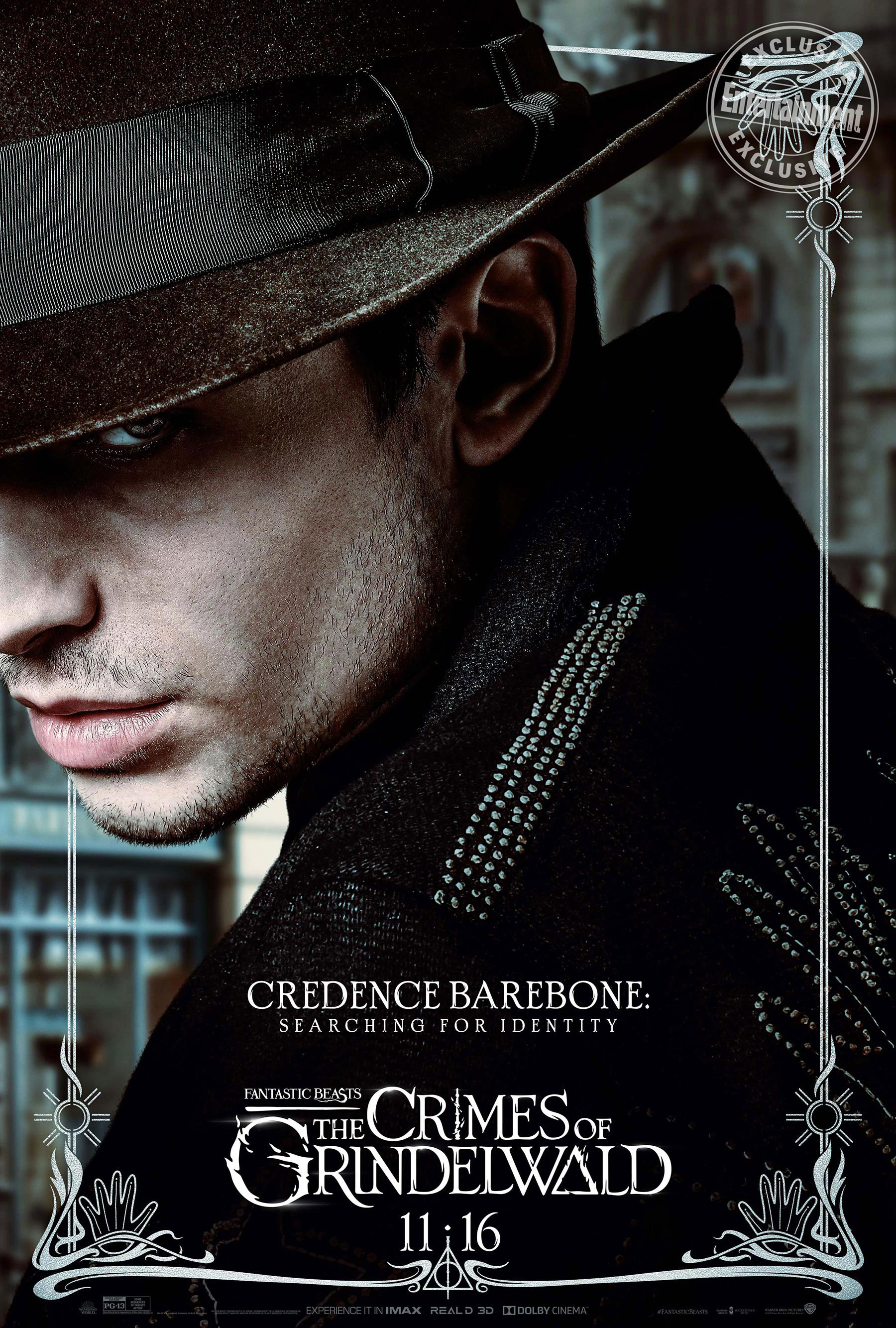 His poster suggests more intrigue and mystery. Will we find out what happened to Credence?