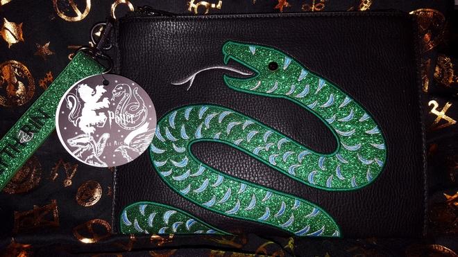 Danielle Nicole Slytherin pouch