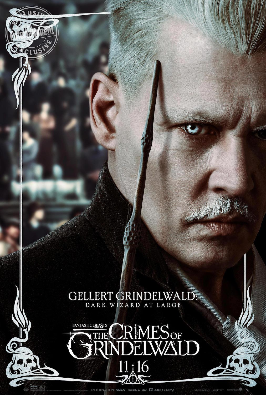The movie is named after him, but what is Grindelwald up to in this installment of the franchise?