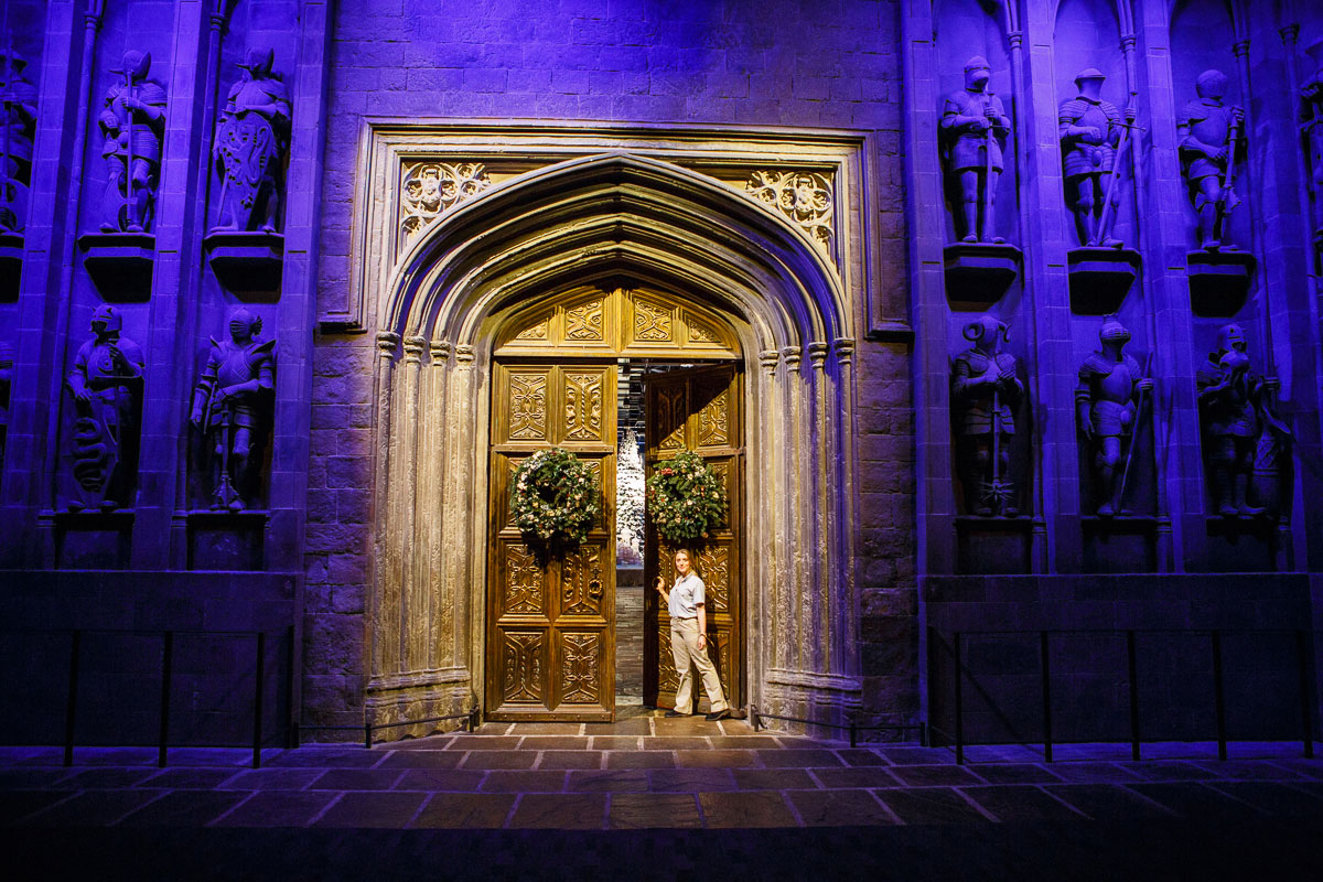 The entrance to the Great Hall