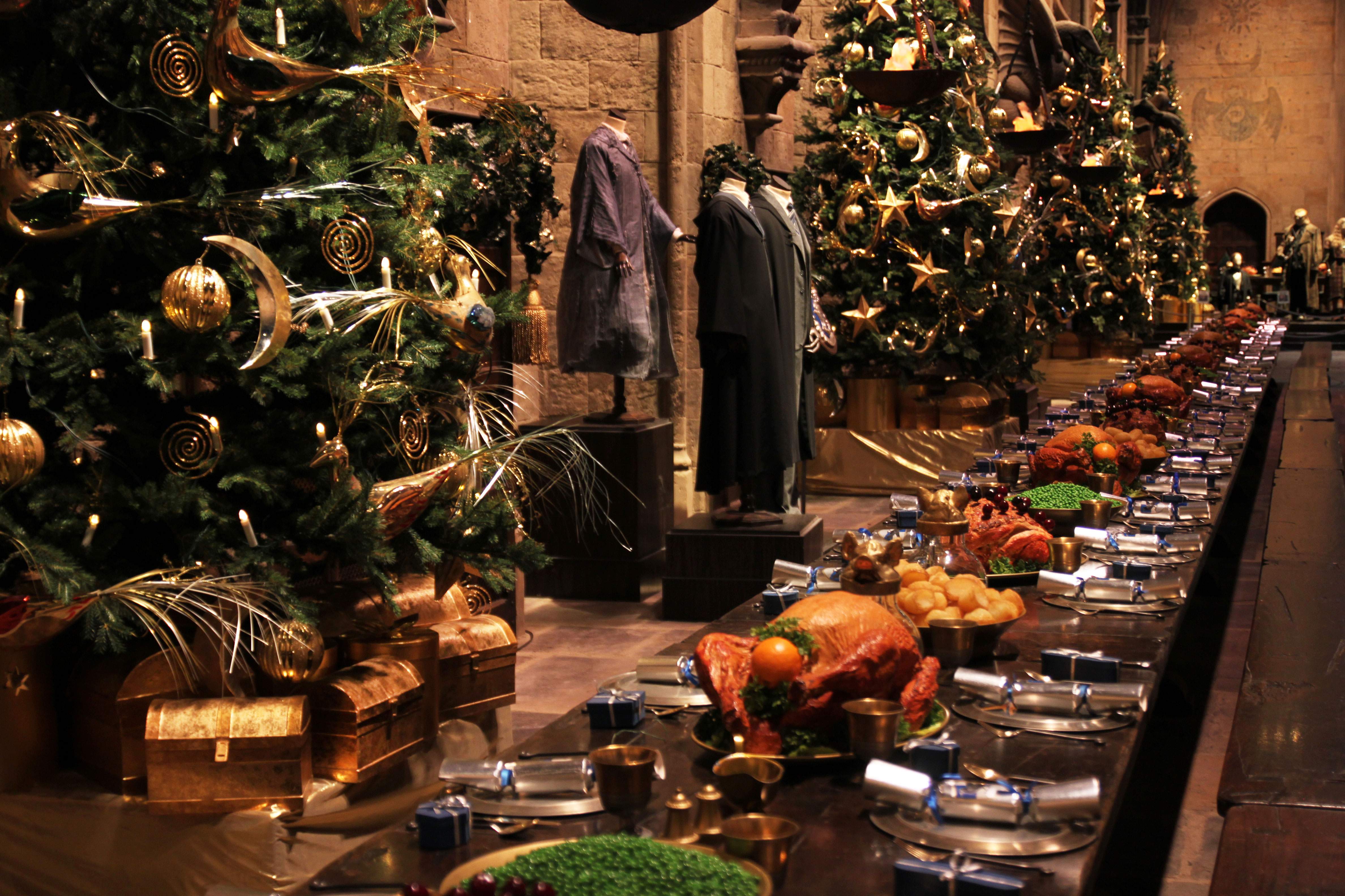 A feast made entirely of props