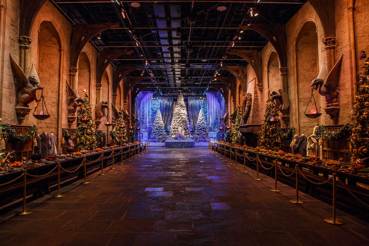 The Great Hall will be decked out for the holidays.