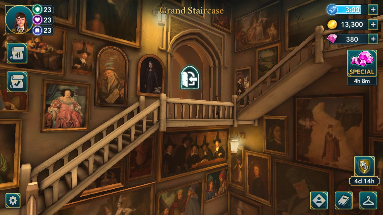 The grand staircase is one of the new locations available in Year 5.