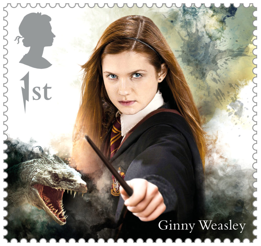Ginny Weasley, the youngest member of the Weasley family and the love of Harry's life, is also featured.