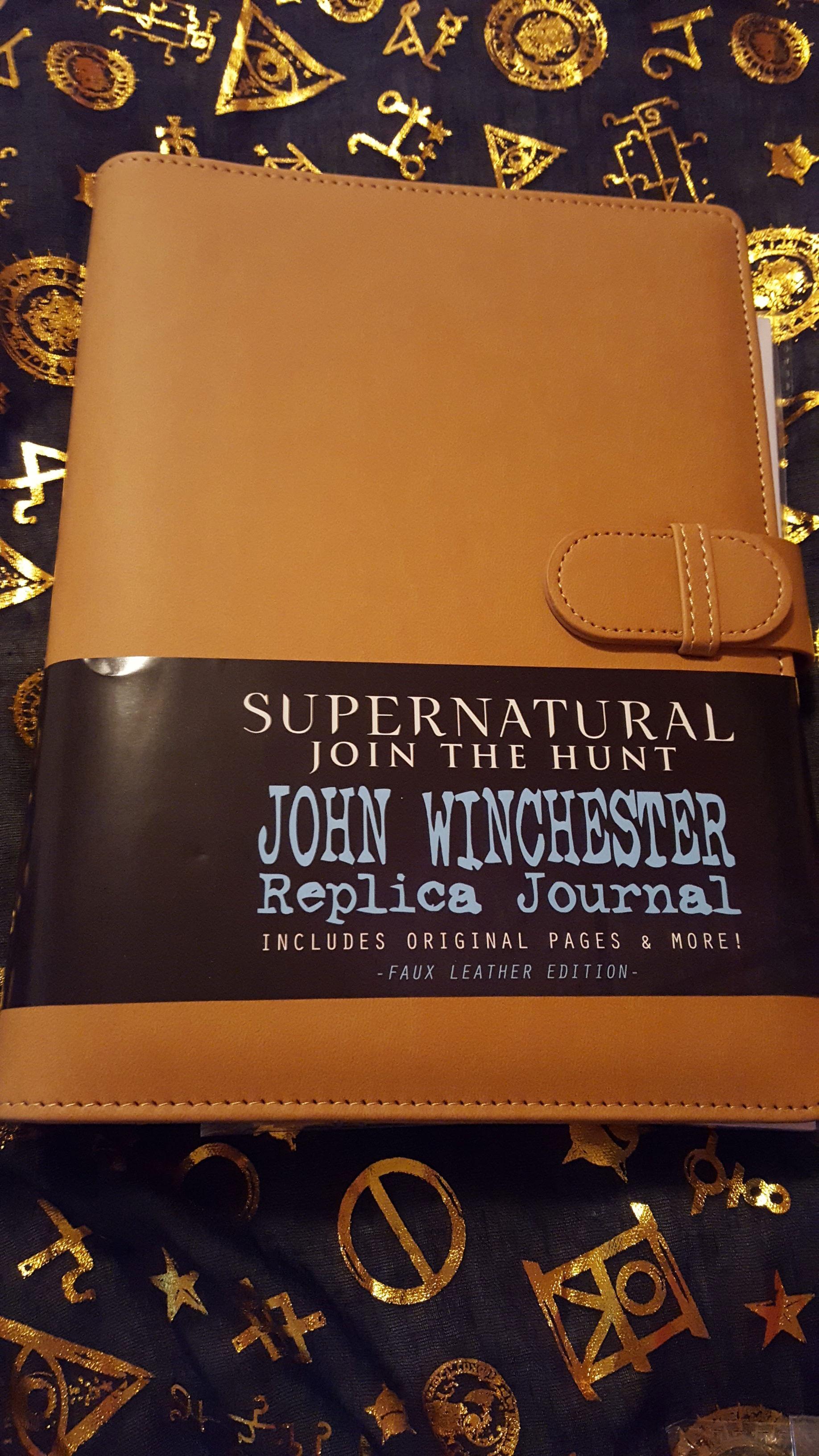 John Winchester replica journal