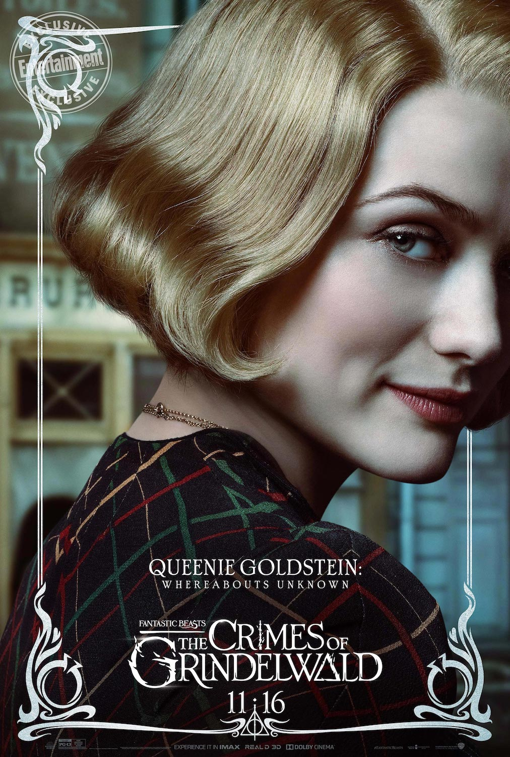 """After a promising ending to the first """"Fantastic Beasts"""" movie, it seems that nobody knows what Queenie is up to in """"Crimes of Grindelwald"""". Will this secret be revealed?"""