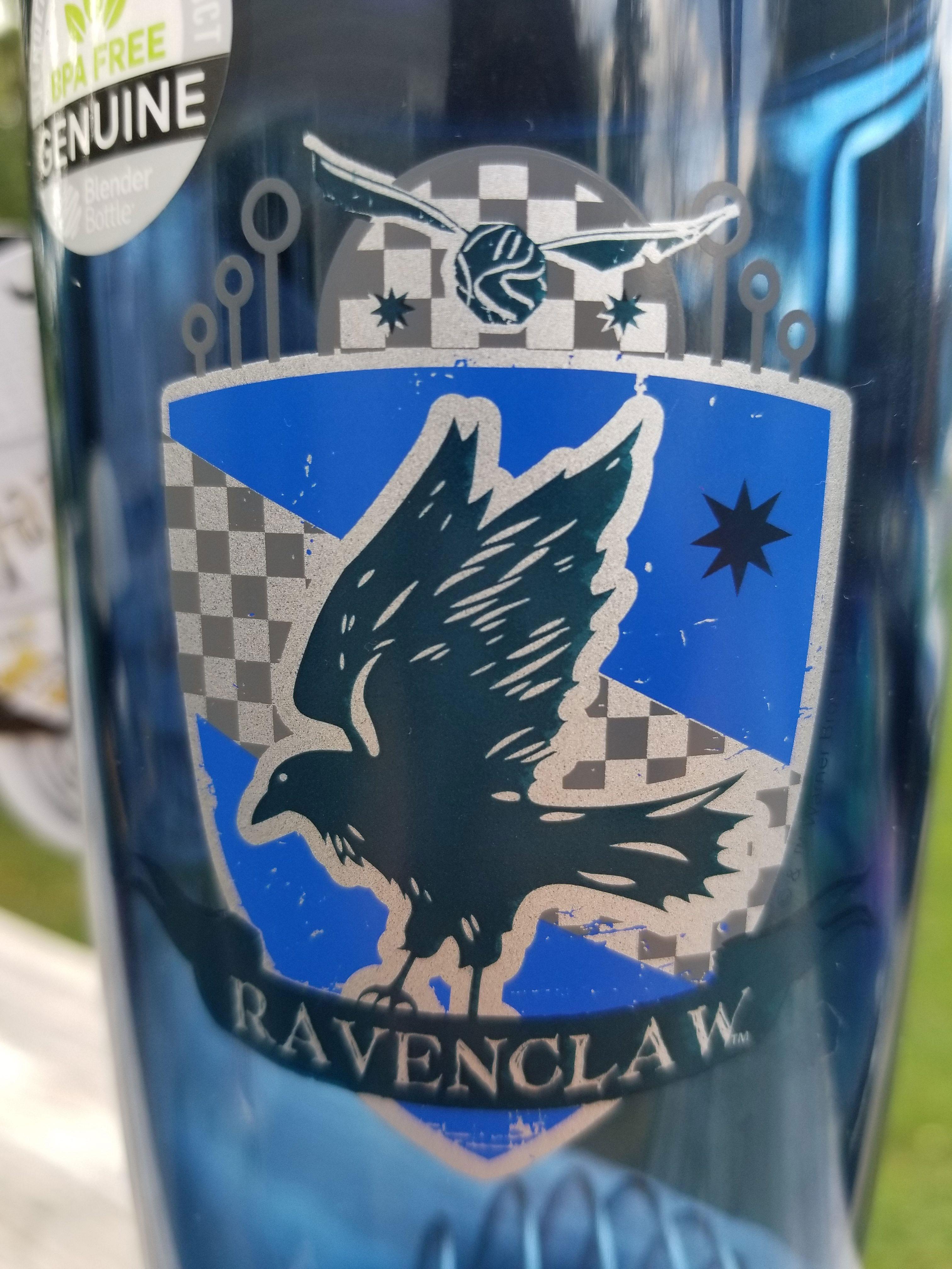 Ravenclaw BlenderBottle decal close-up