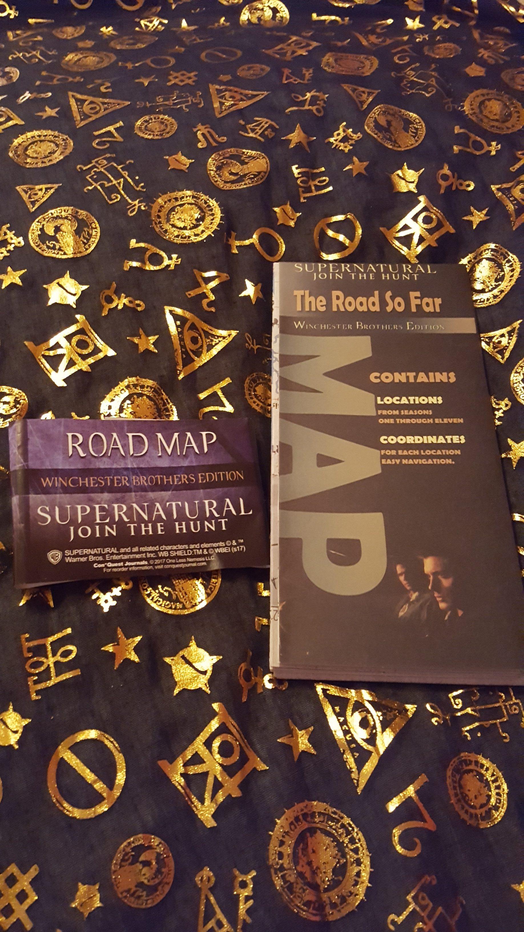 """Road So Far"" map"