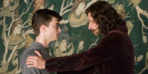 Sirius Black encourages Harry Potter