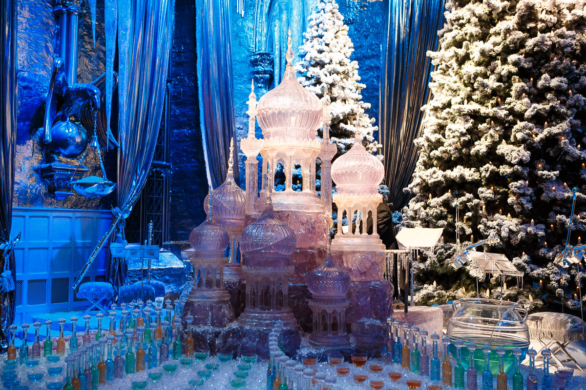 The Yule Ball stage