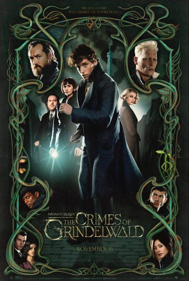 """Fantastic Beasts: The Crimes of Grindelwald"": early screening poster"