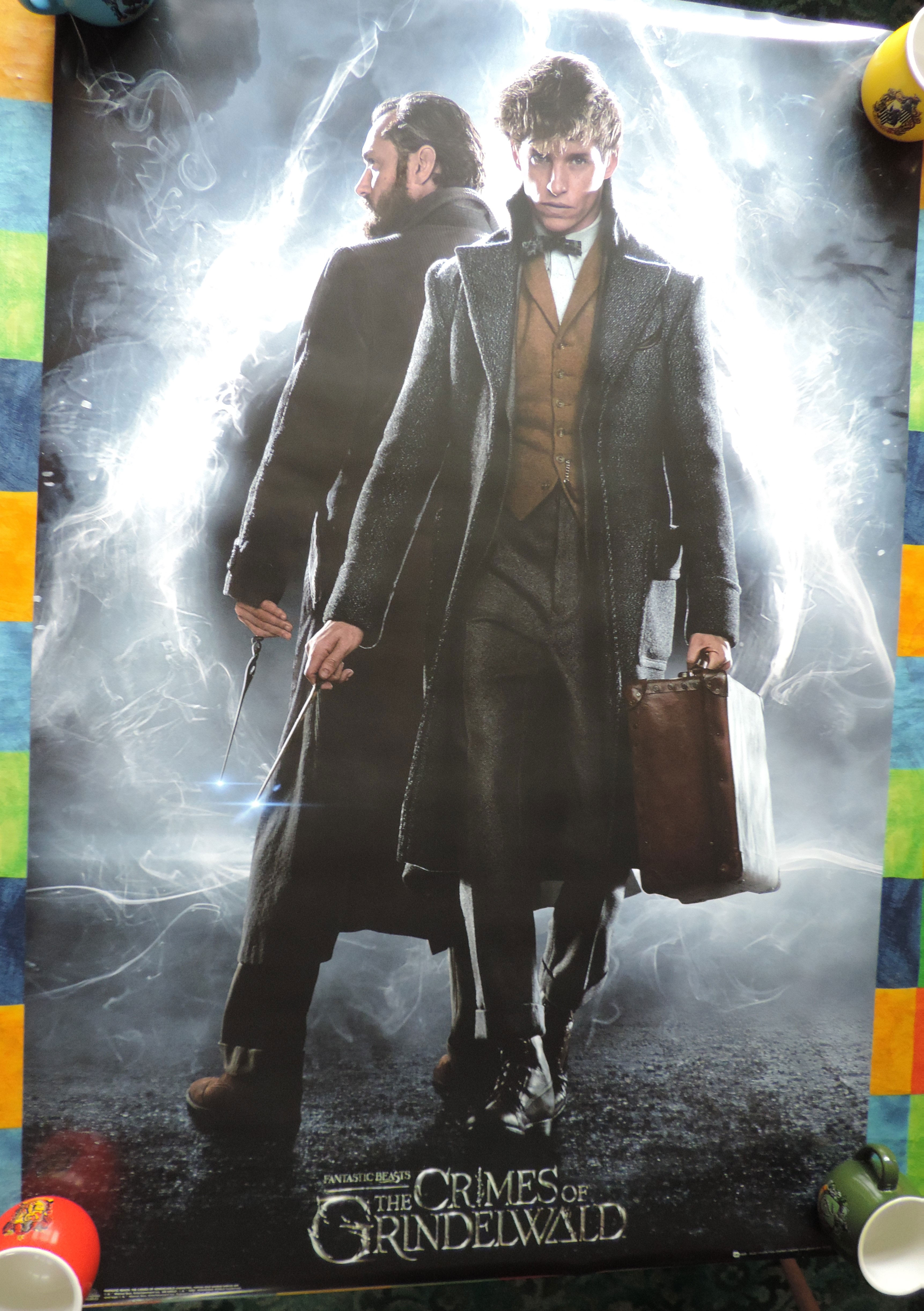 """GB Posters """"Crimes of Grindelwald"""" maxi poster"""