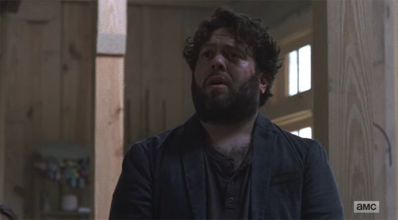 "Dan Fogler in AMC's ""The Walking Dead"""