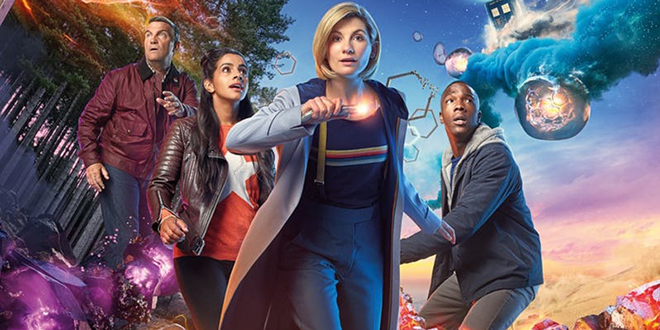 """Doctor Who"" Season 11 trailer poster with Jodie Whittaker"