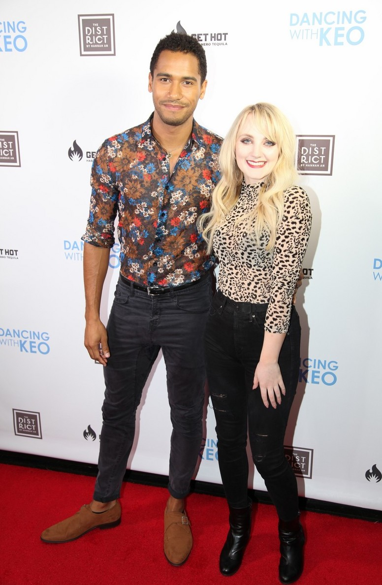 Evanna Lynch and Elliot Knight at Dancing with Keo launch event