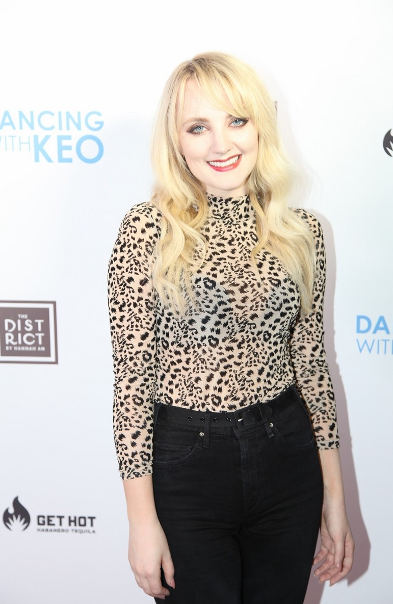 Evanna Lynch at Dancing with Keo launch event