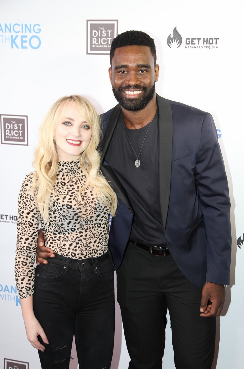 Evanna Lynch and Keo Motsepe at Dancing with Keo launch event