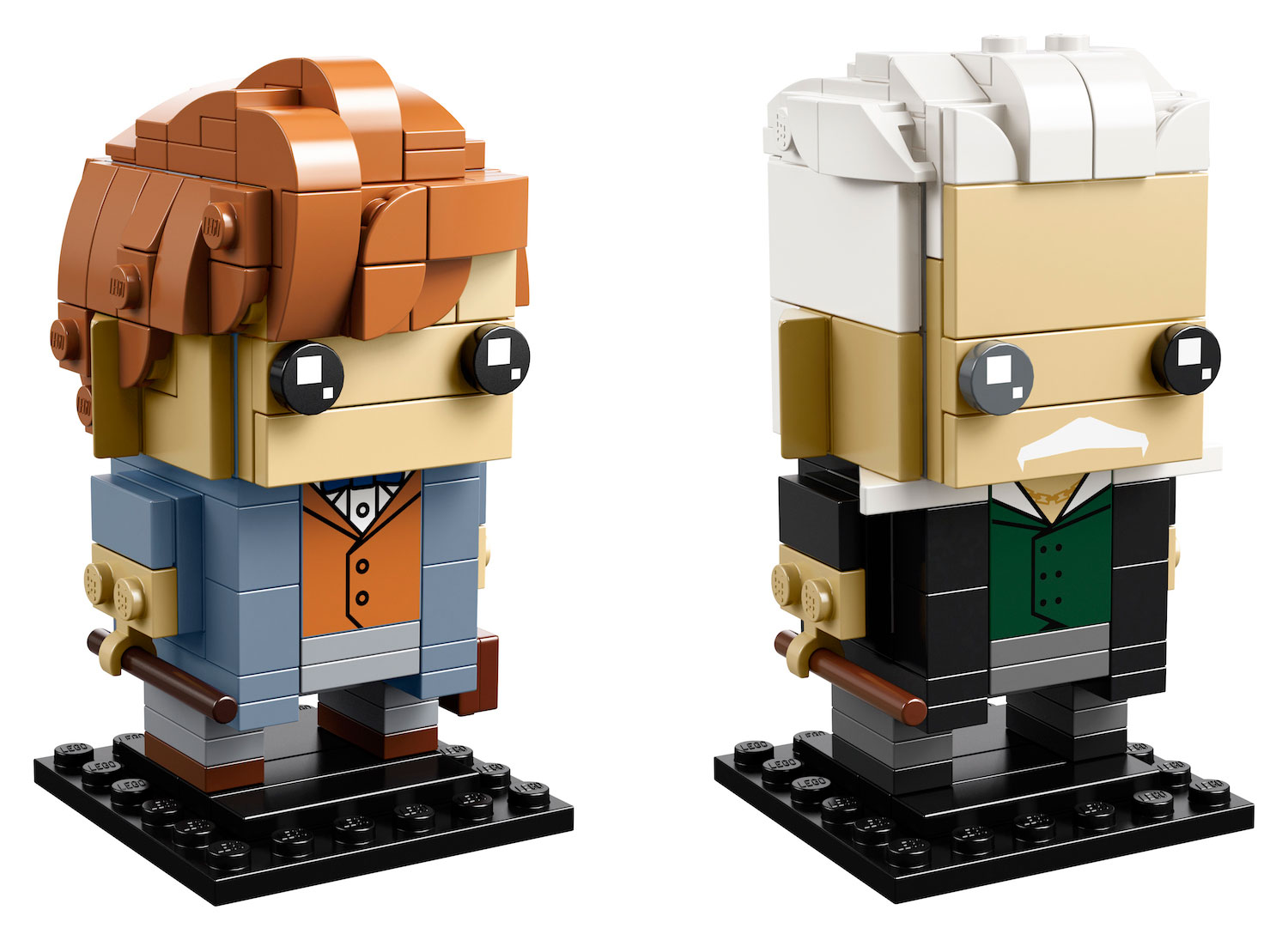 "This BrickHeadz set is the first to feature characters from the ""Fantastic Beasts"" series."