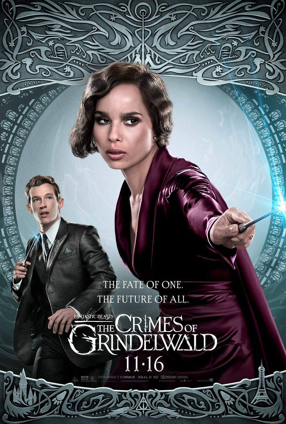 """Fantastic Beasts: The Crimes of Grindelwald"": Leta and Theseus character poster"