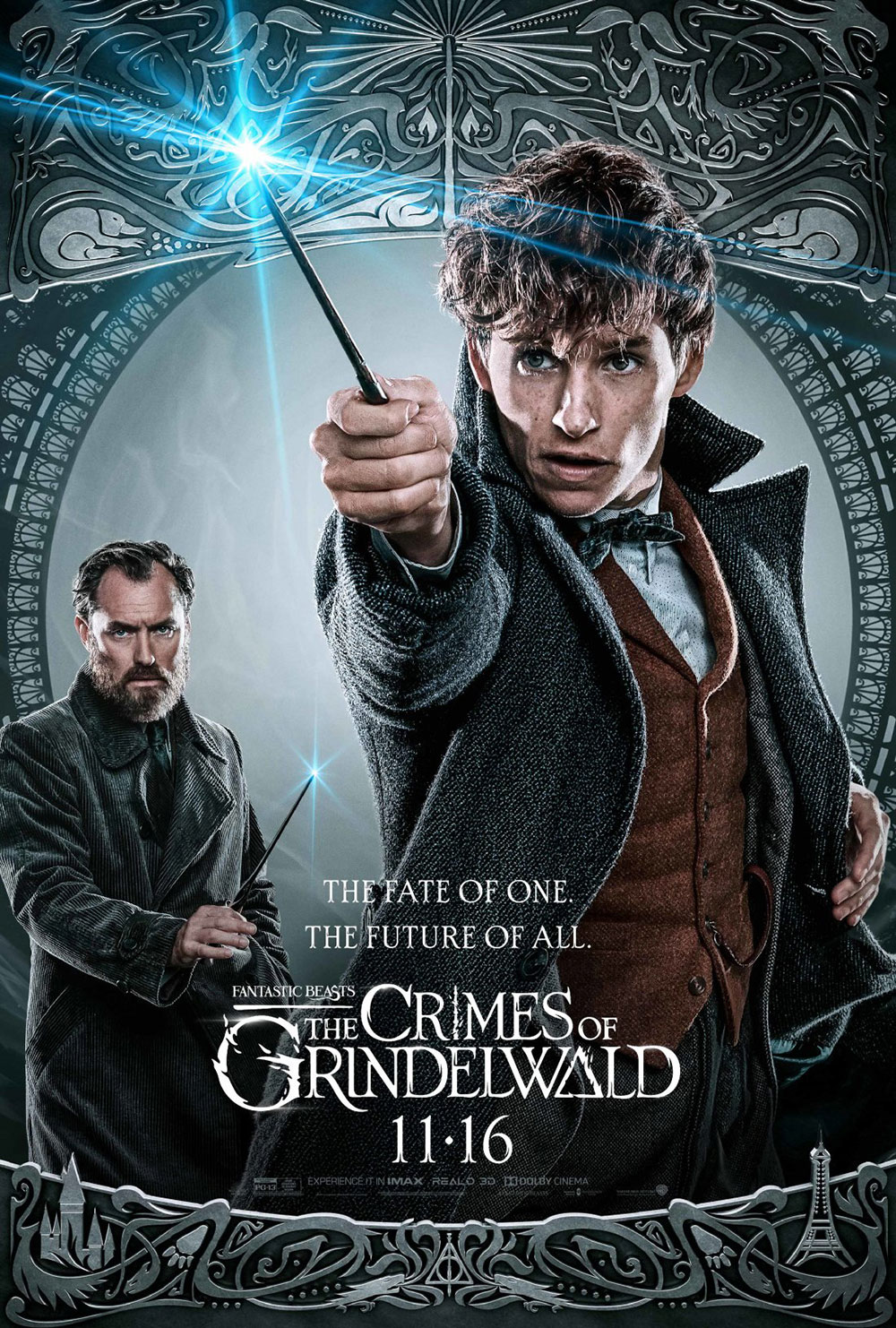 """Fantastic Beasts: The Crimes of Grindelwald"": Newt and Dumbledore character poster"