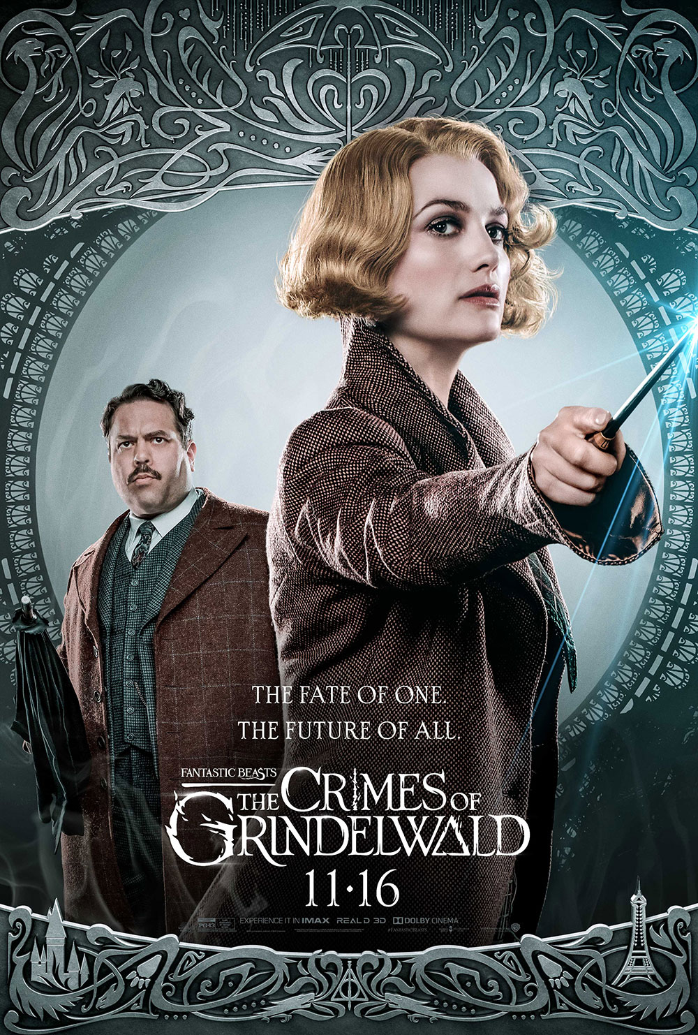 """Fantastic Beasts: The Crimes of Grindelwald"": Queenie and Jacob character poster"