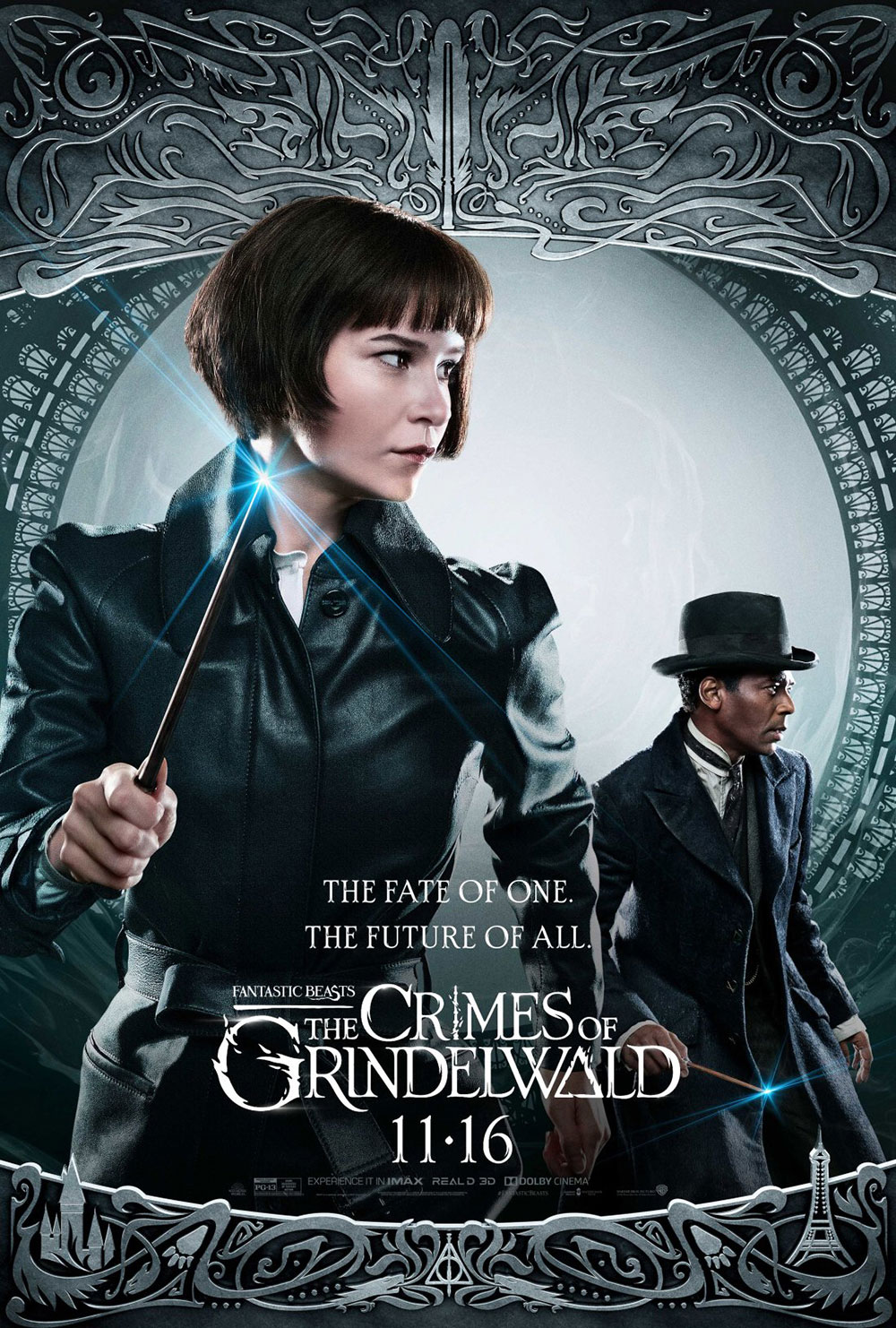 """Fantastic Beasts: The Crimes of Grindelwald"": Tina and Yusuf character poster"