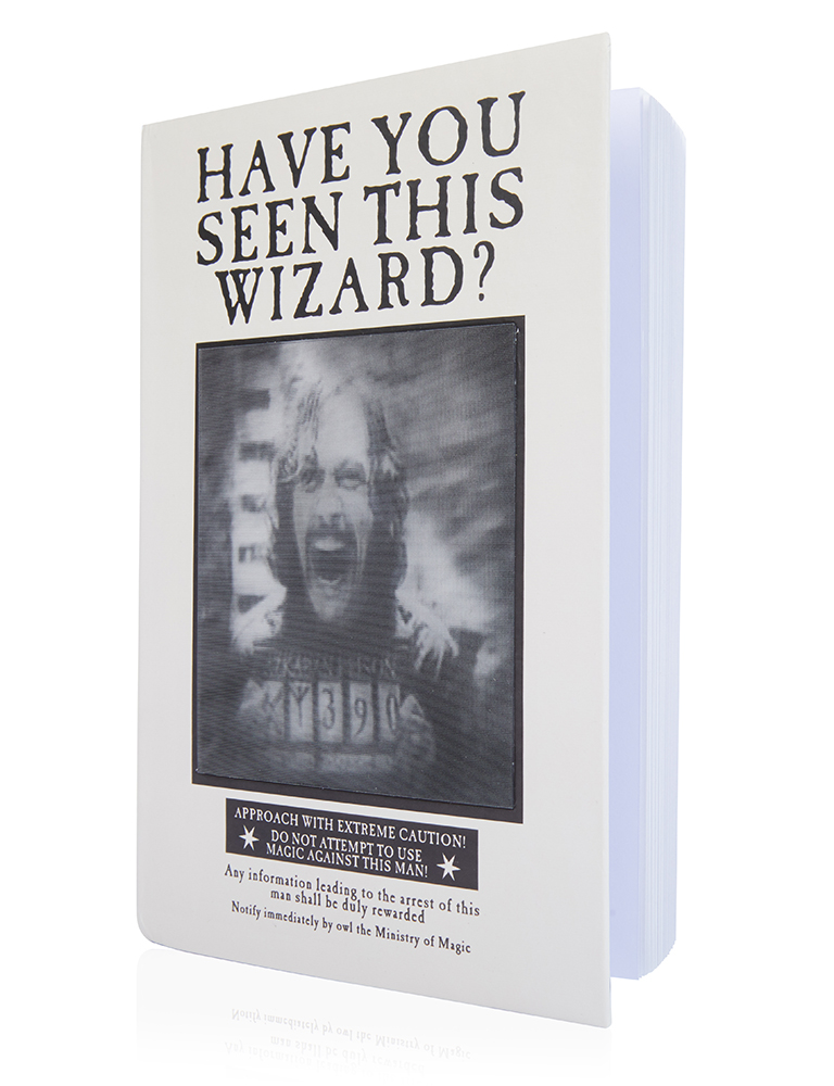 Sirius Black wanted poster notebook from Wow! Stuff