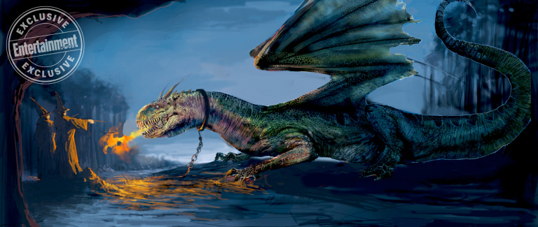 To make their interpretation of dragons as believable as possible, the art department on the film consulted a professor of anatomy.