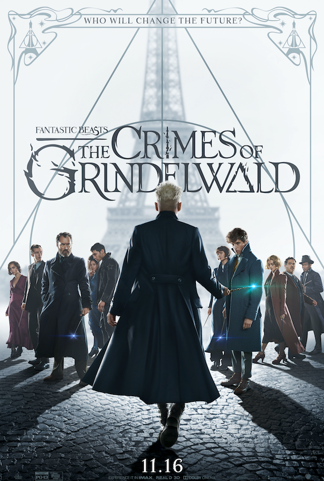 """Fantastic Beasts: The Crimes of Grindelwald"": final poster"