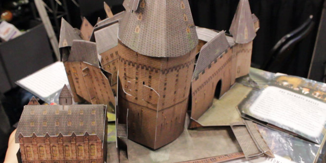 "Hogwarts Castle from the ""Harry Potter: A Pop-Up Guide to Hogwarts"" book from Insight Editions"