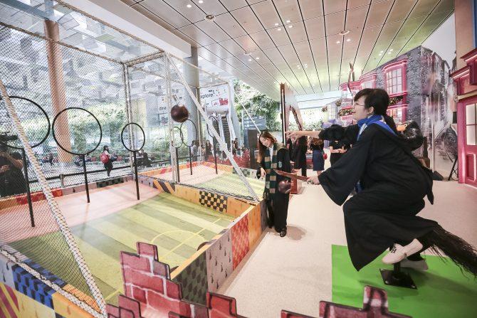 Quidditch at Changi Airport