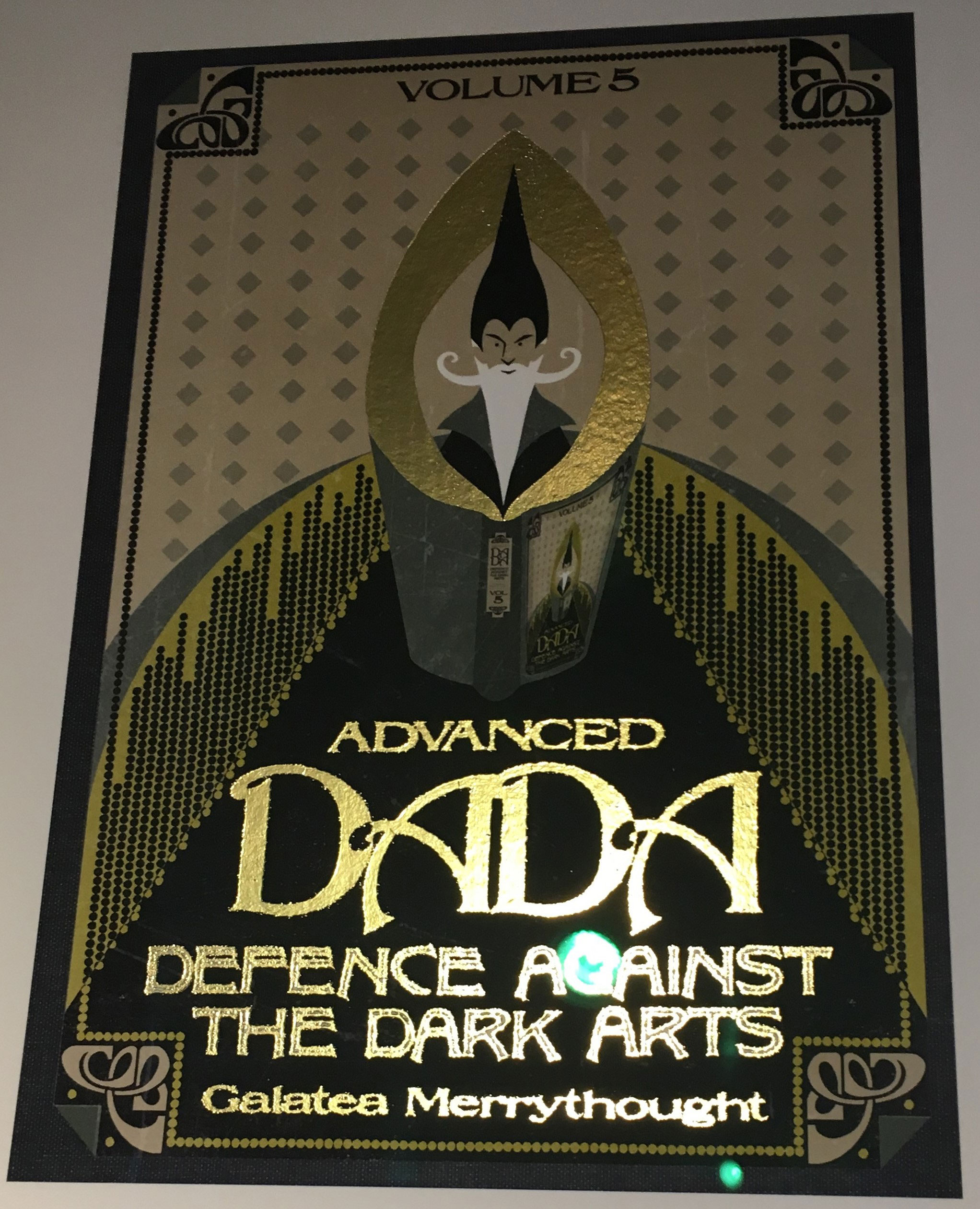 """Advanced DADA"" by Galatea Merrythought – Design by MinaLima for ""Crimes of Grindelwald"""