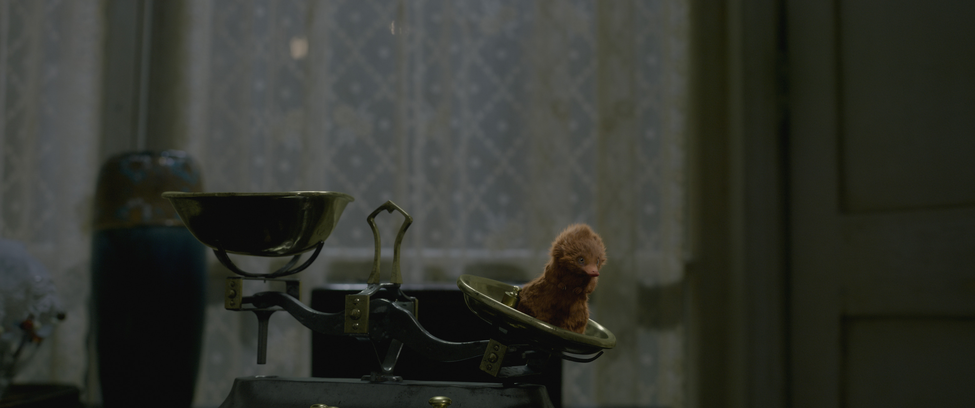 """Fantastic Beasts: The Crimes of Grindelwald"": a baby Niffler"