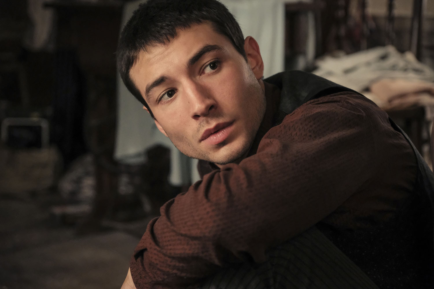 """Fantastic Beasts: The Crimes of Grindelwald"": Credence Barebone (Ezra Miller)"