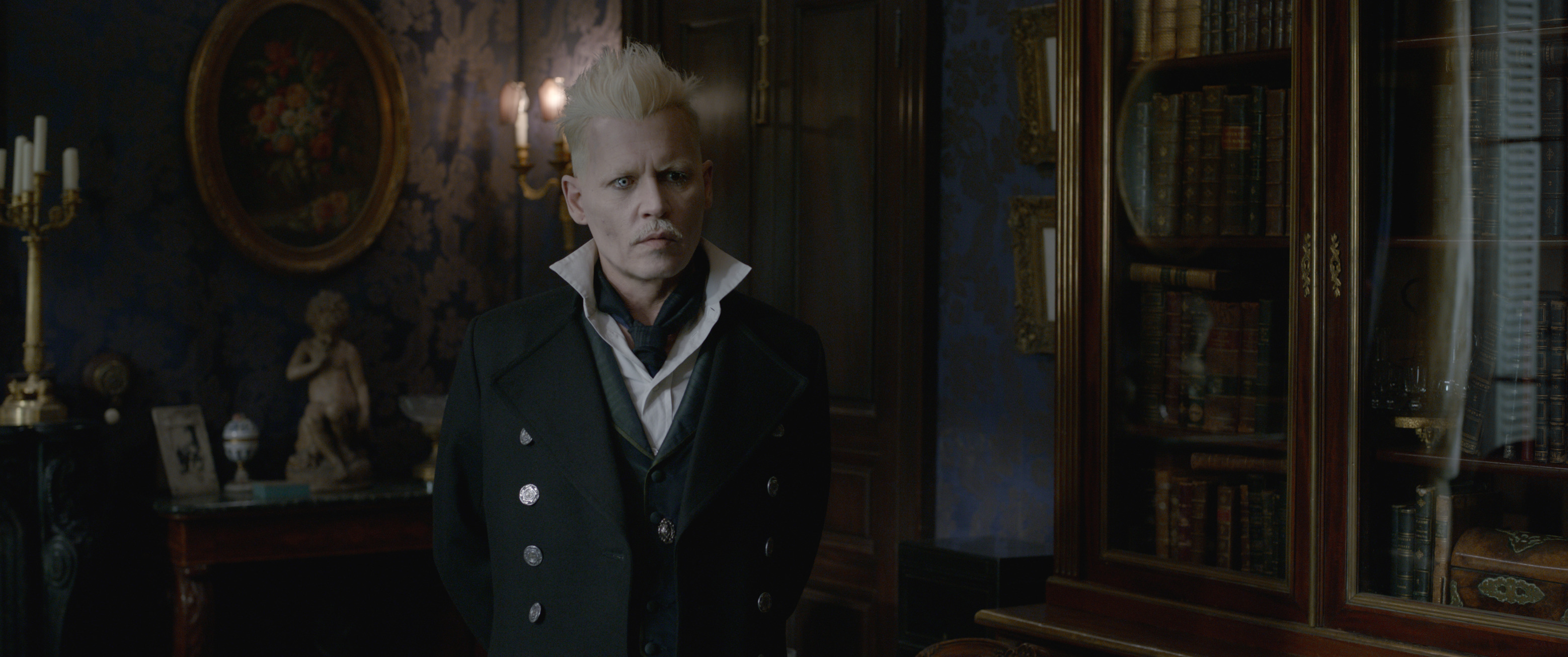 """Fantastic Beasts: The Crimes of Grindelwald"": Gellert Grindelwald (Johnny Depp)"
