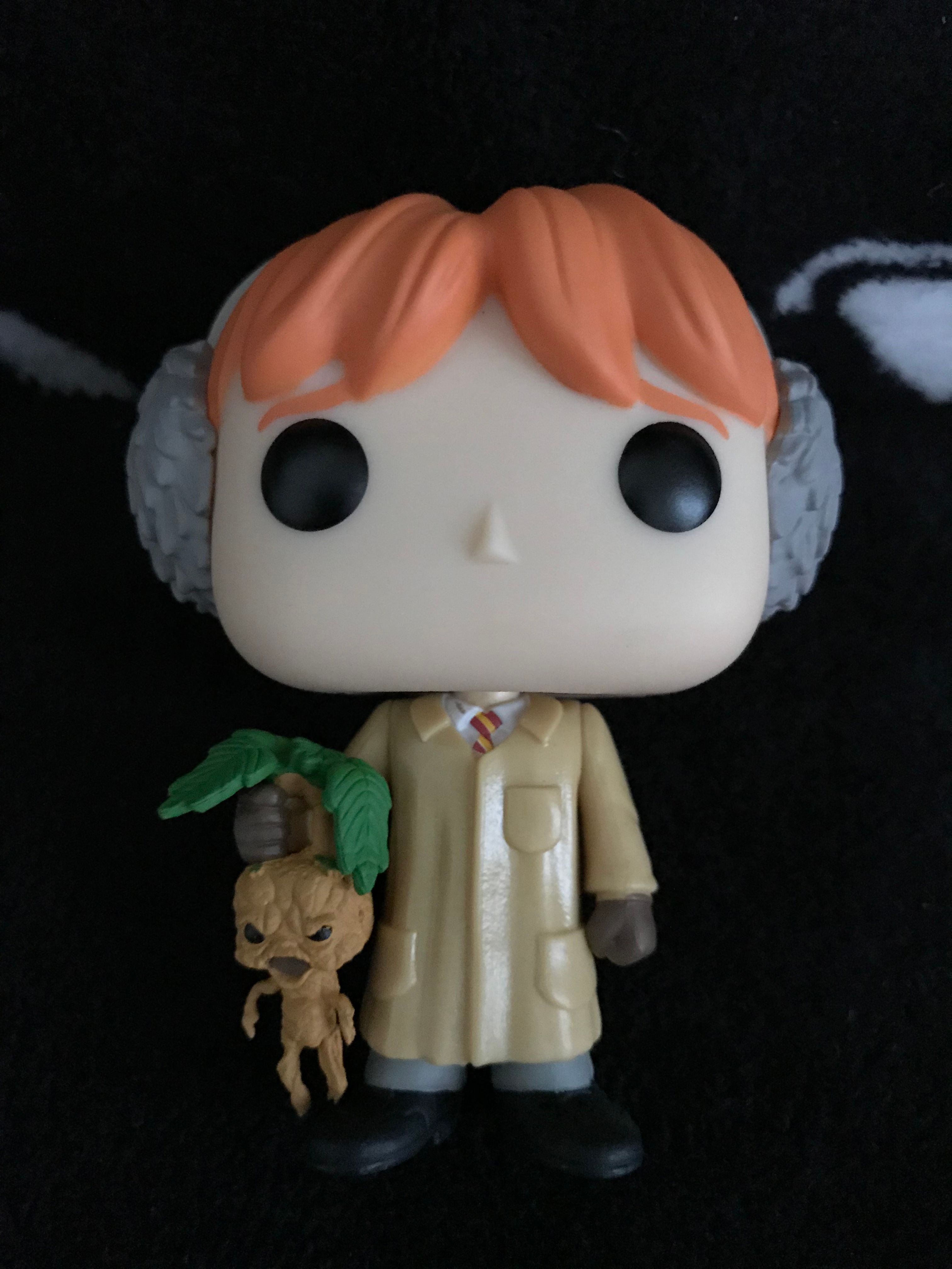 Ron with his Mandrake