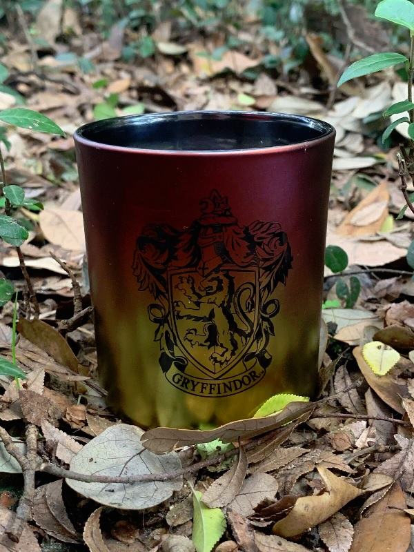 Gryffindor House Glass Candle from Insight Editions