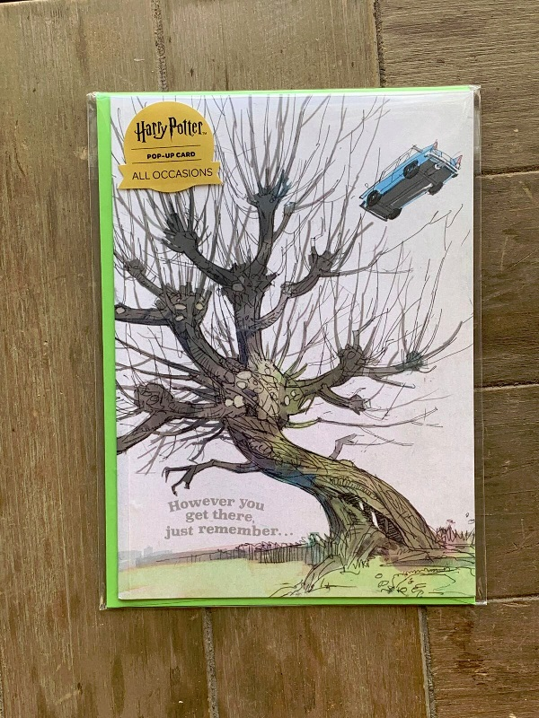 Pop-Up Whomping Willow Card from Insight Editions