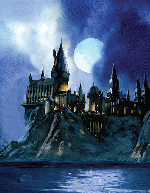 PopCraft Hogwarts Castle Card 1