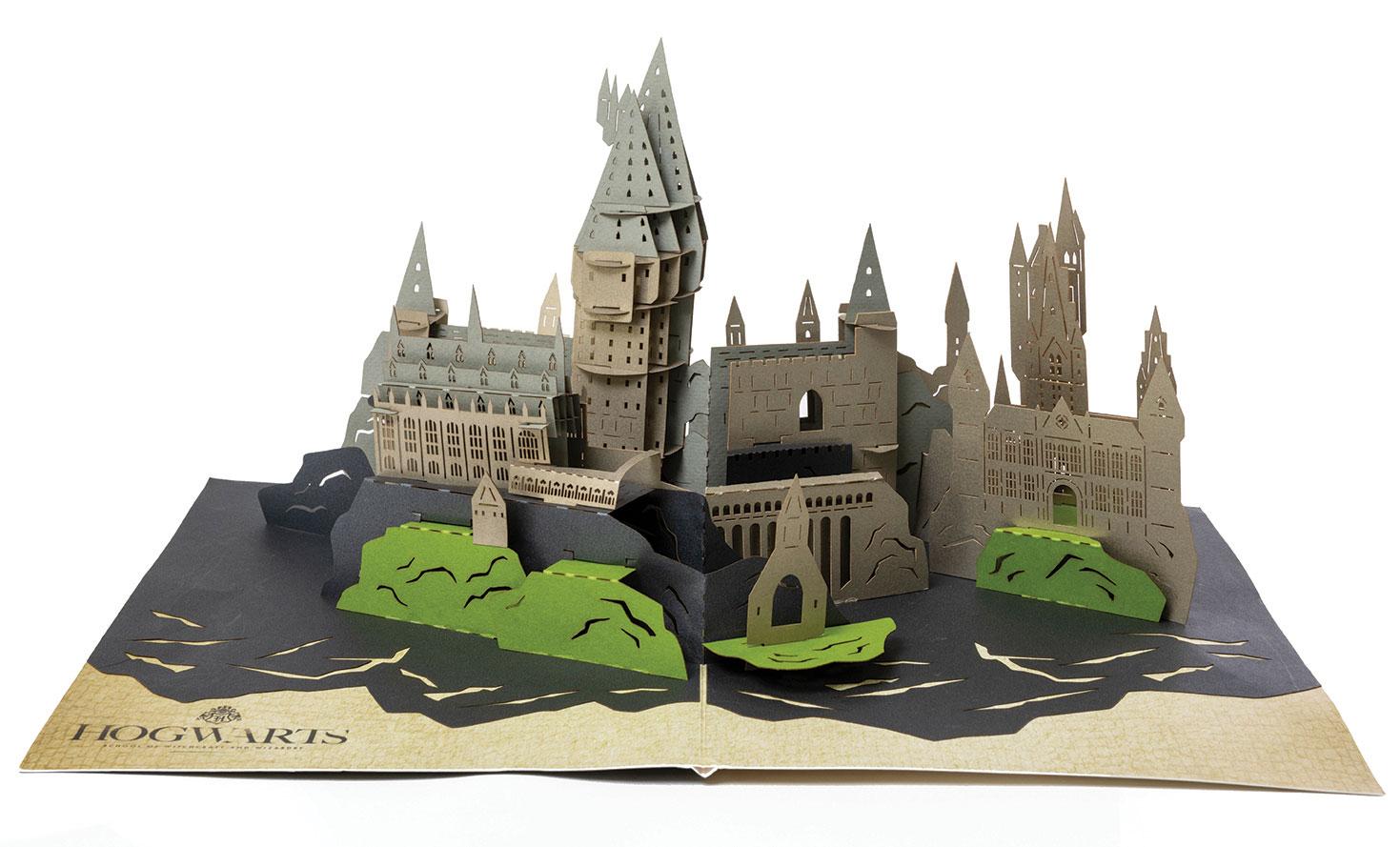 PopCraft Hogwarts Castle Card