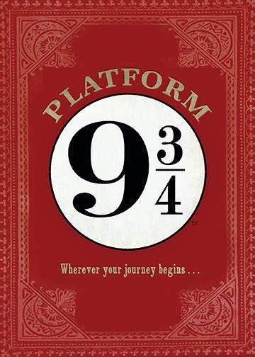 PopCraft Hogwarts Express Card 1