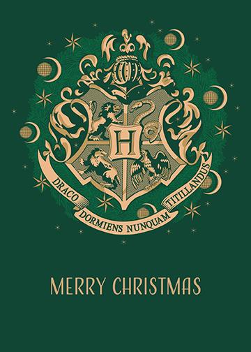 PopCraft Hogwarts Holidays Card 1