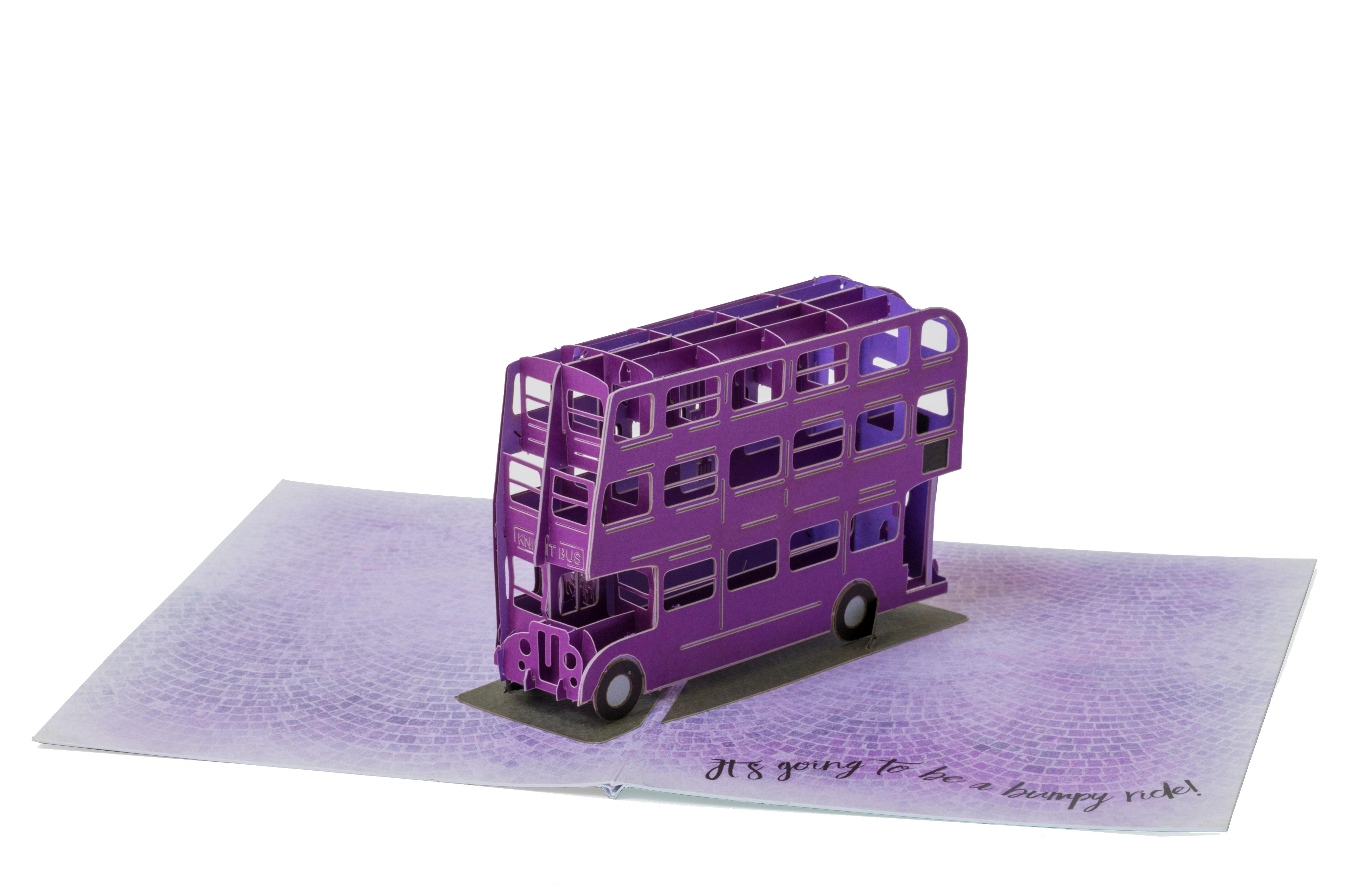 PopCraft Knight Bus Card