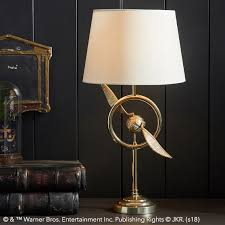 """Harry Potter"" Golden Snitch task lamp"