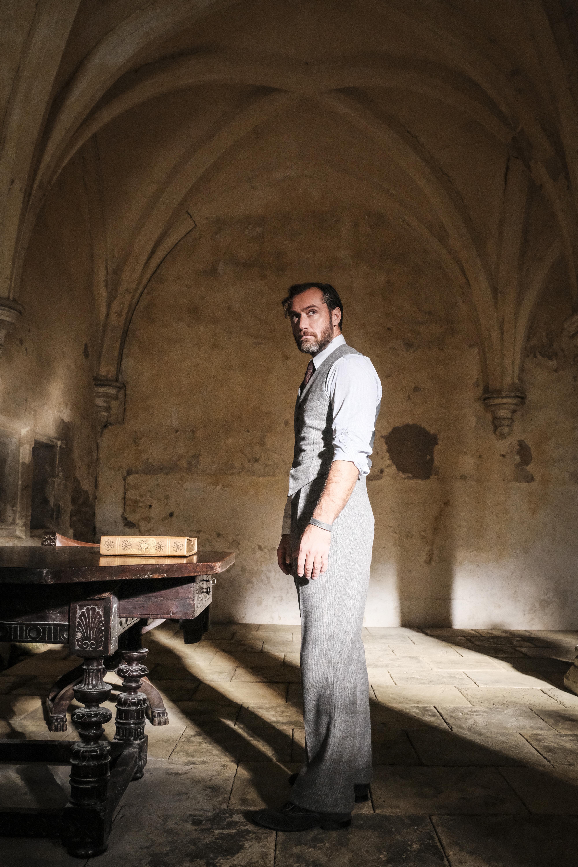 Albus Dumbledore stands alone.