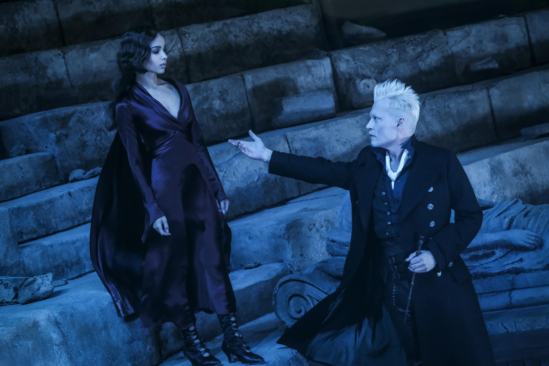 Leta Lestrange and Gellert Grindelwald