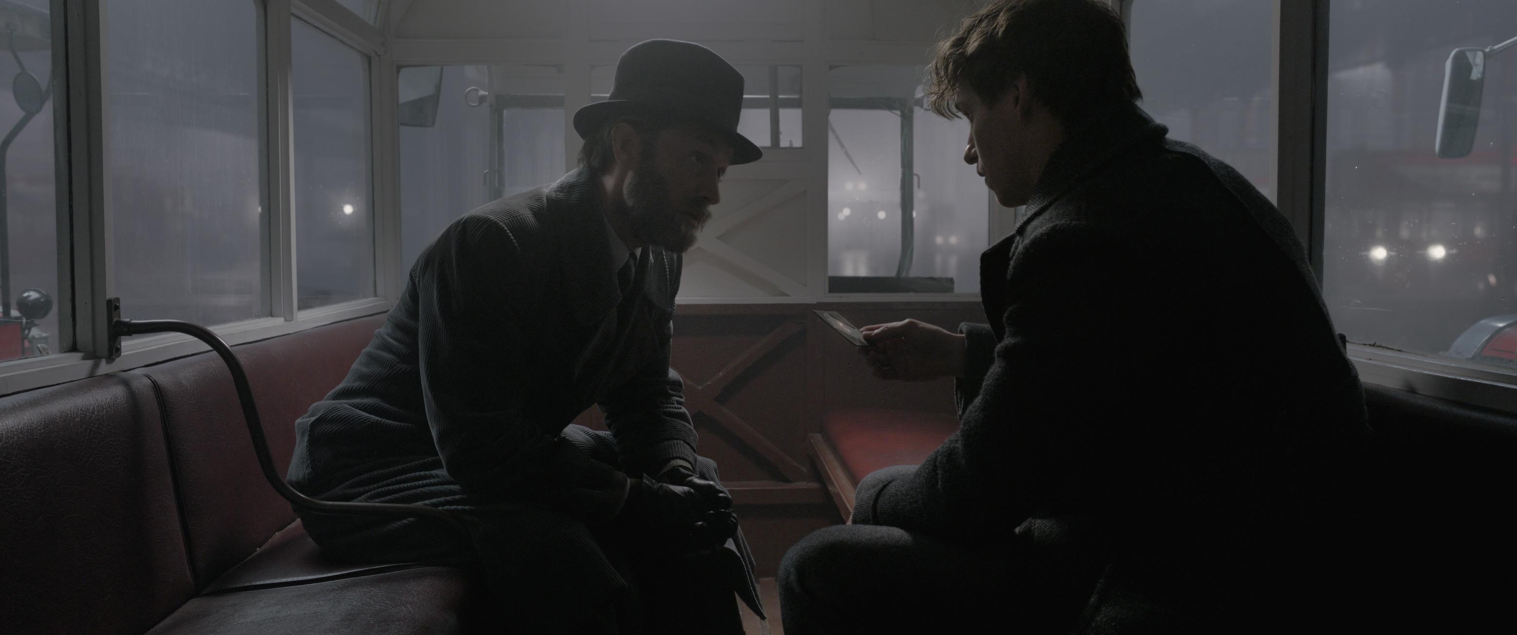 Albus Dumbledore and Newt Scamander